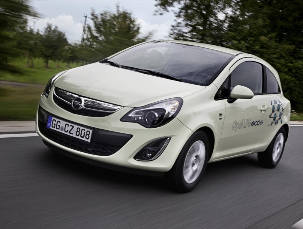 Opel ecoFLEX Modelle 2012