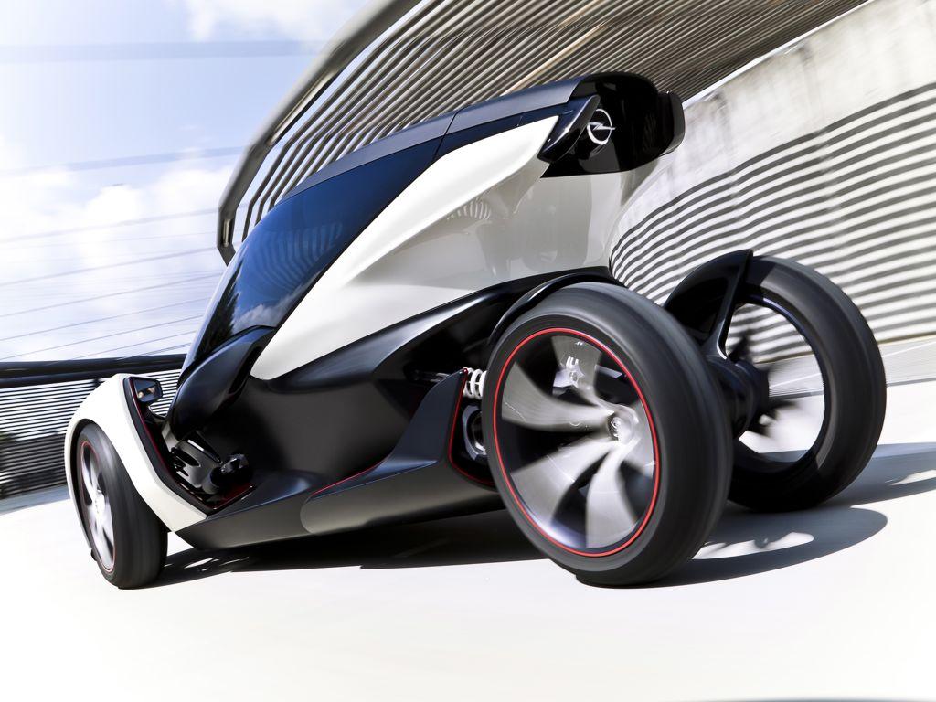 Opel Elektroauto Studie IAA 2011