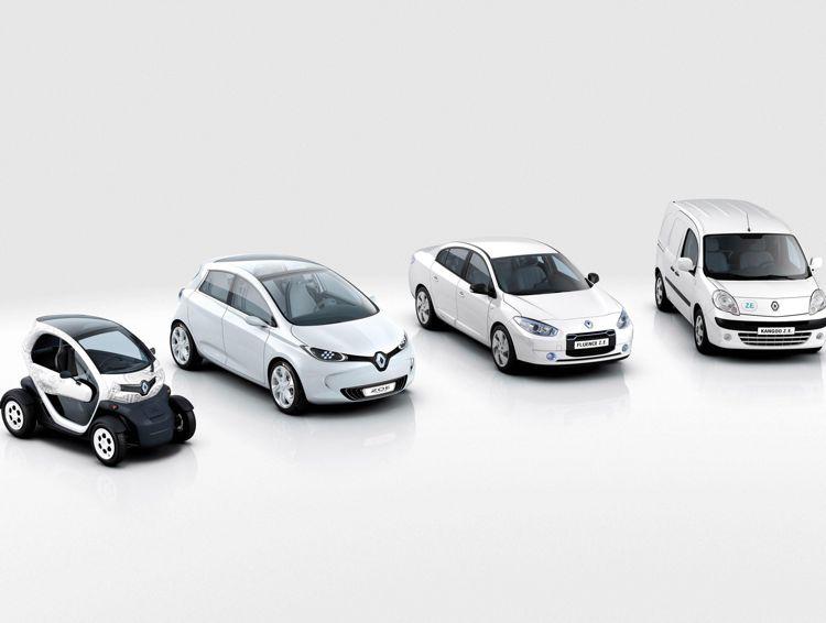 Pariser Autosalon 2010 Serienreife Elektroautos Von Renault