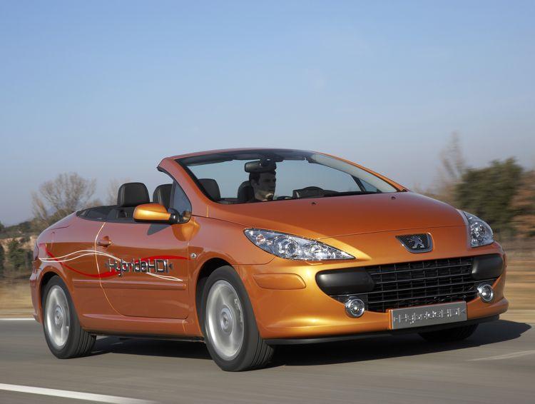 Peugeot 307 Cc Diesel Hybrid 2006