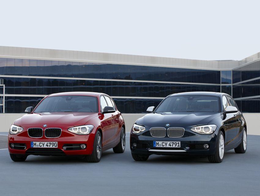 BMW 1er Modelljahr 2012: So sieht der neue Kleinwagen aus München aus