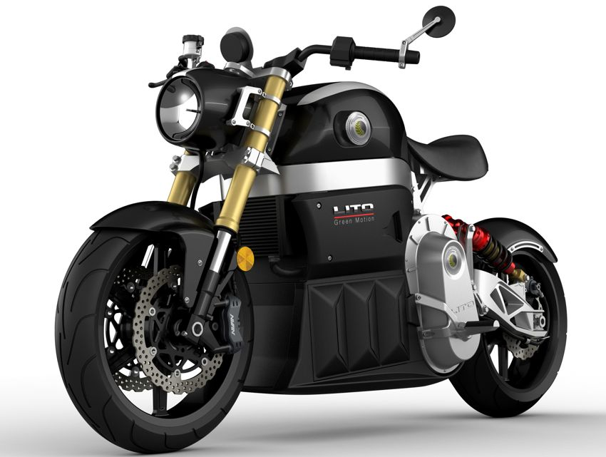 Lito Sora (2011): Lito Green Motion mit agressivem E-Bike