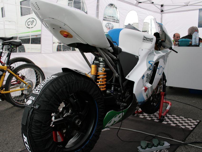 MÜNCH TTE-1 Elektromotorrad für die TTXGP und e-Power