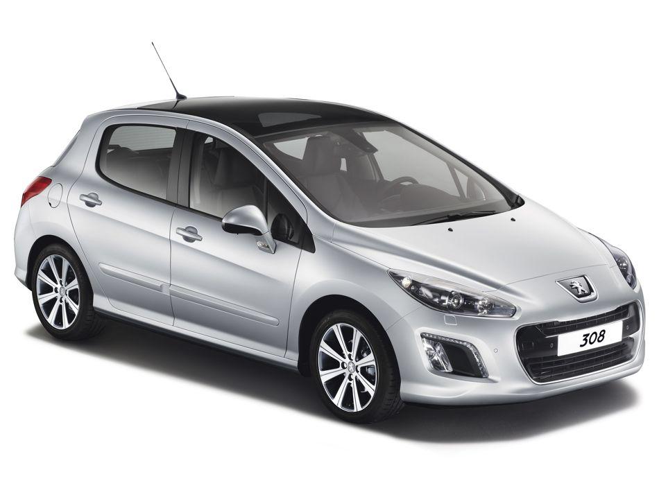 Peugeot 308 Facelift mit Start-Stopp-Automatik