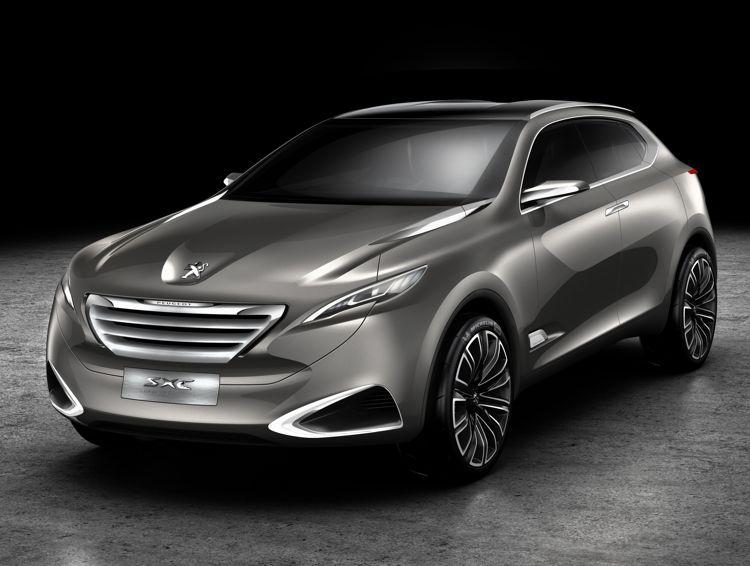 Peugeot SxC HYbrid 4 2011