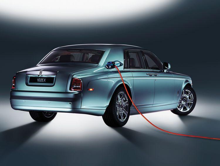 Rolls-Royce 102 EX - königlich elektrisch
