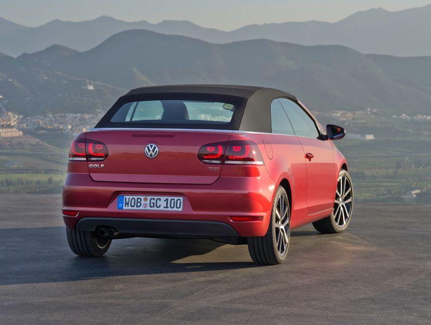 VW Golf Cabrio 2011