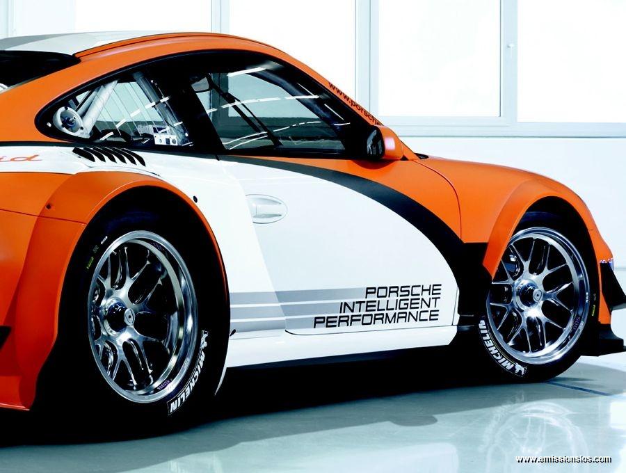 Porsche 911 Gt3 R Hybrid 2010