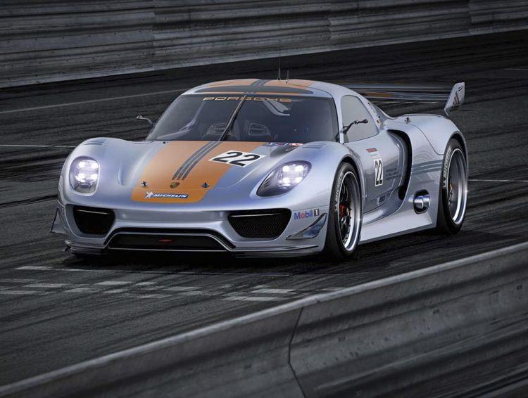 Porsche 918 Rsr Hybrid 2011