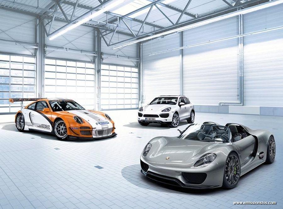 Porsche 918 Spyder 2010