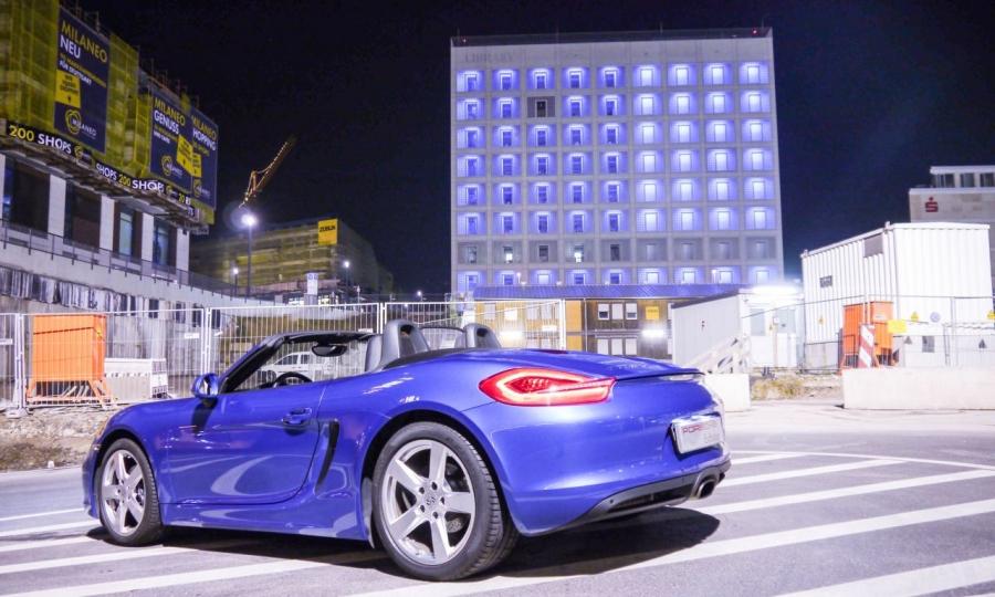 Porsche Boxster Fahrbericht (2014)