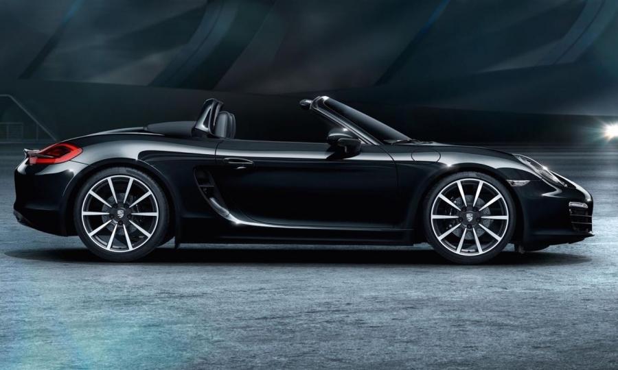 Porsche Boxster und 911 Carrera Black Edition