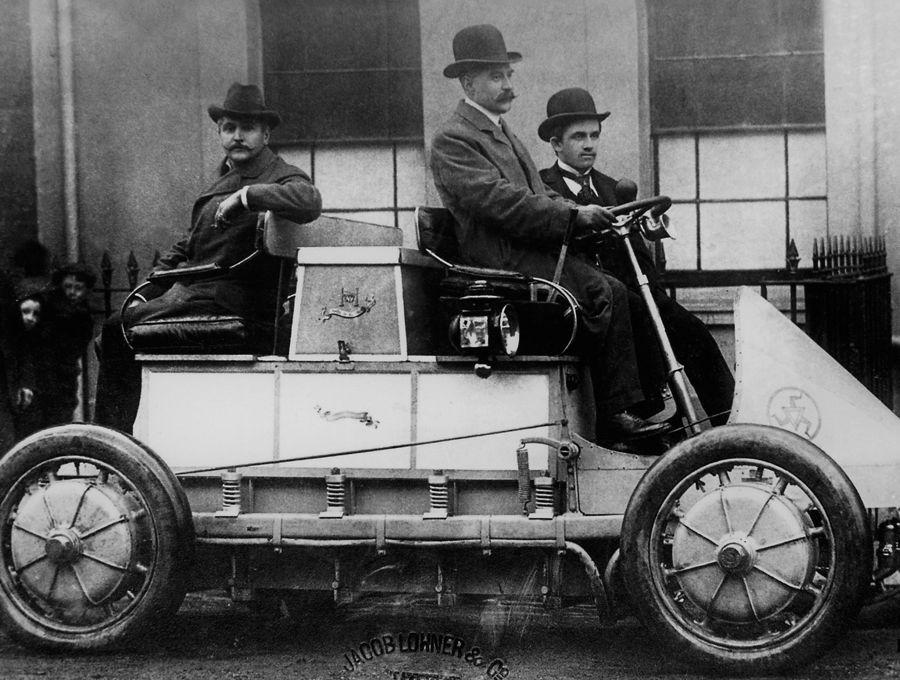 Porsche Lohner Elektrowagen 1900