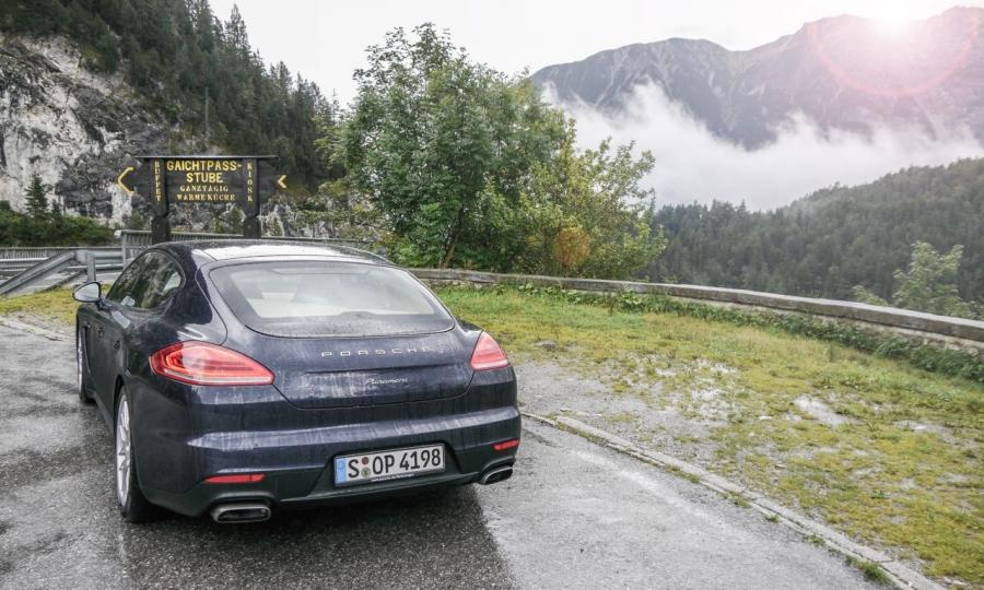 Porsche Panamera Diesel (2014)