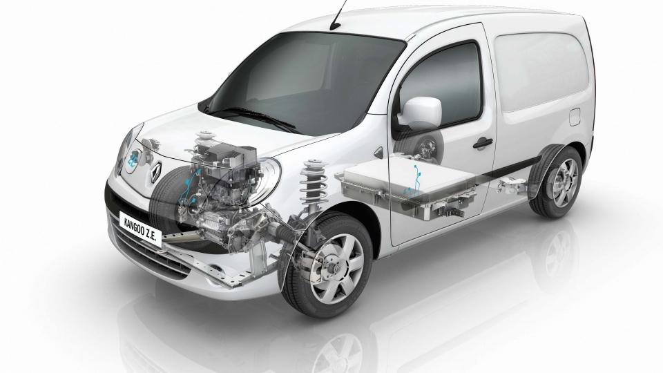 Renault Kangoo. Z.E. (2014)