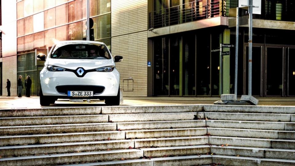 Renault Zoe in Stuttgart (2014)