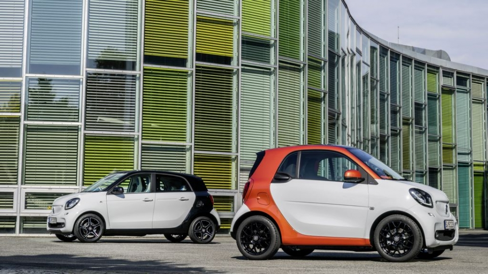 Smart Fortwo und Smart ForFour (ab 2014)