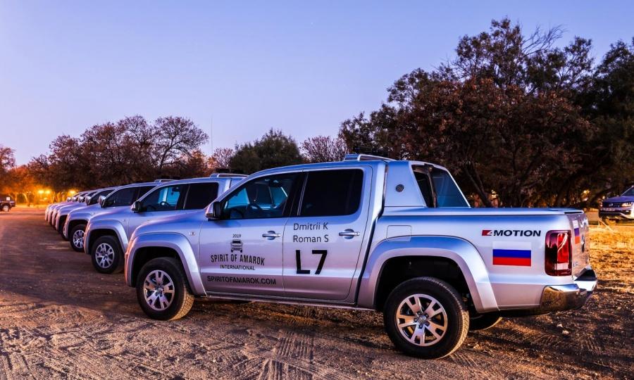 Spirit of Amarok Tour 2019 Bloemfontein, ZA