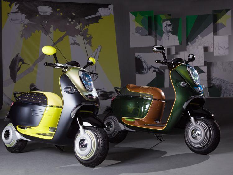 Video Update Mini Scooter E Concept Elektroroller Sind Angesagt