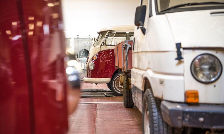 Virtueller Rundgang durch die kleinen Heiligen Hallen von Volkswagen Nutzfahrzeuge