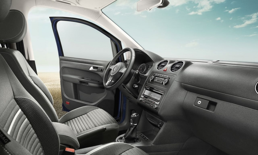 Volkswagen Caddy als Team Sondermodell und Team Edition