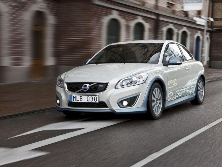 Volvo C30 Drive Electric Die Ersten 250 Testfahrzeuge Werden Ausgeliefert