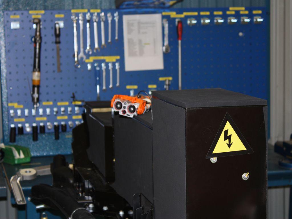 Volvo C30 electriv Produktion mit Siemens Bauteilen