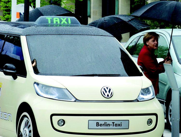 Vw Berlin Taxi 2010