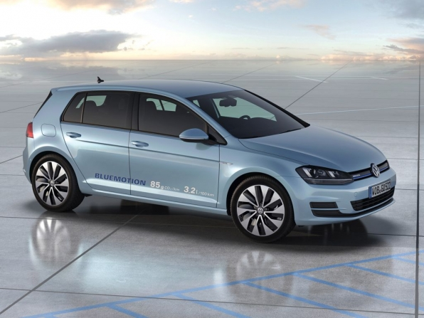 VW Golf 7 BlueMotion (2013)