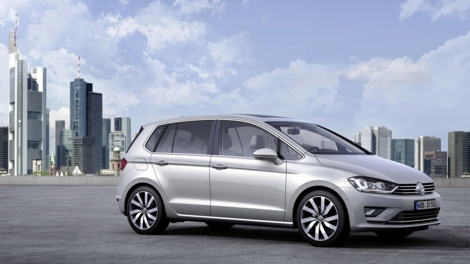 VW Golf Sportsvan 1,6l TDI BlueMotion (2014)