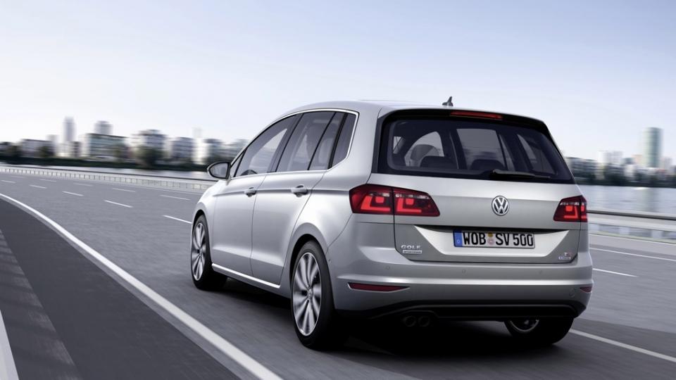 VW Golf Sportsvan 1,6l TDI BlueMotion (2014)