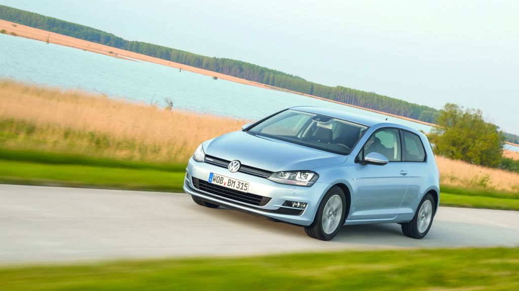 VW Golf TDI BlueMotion (2013)