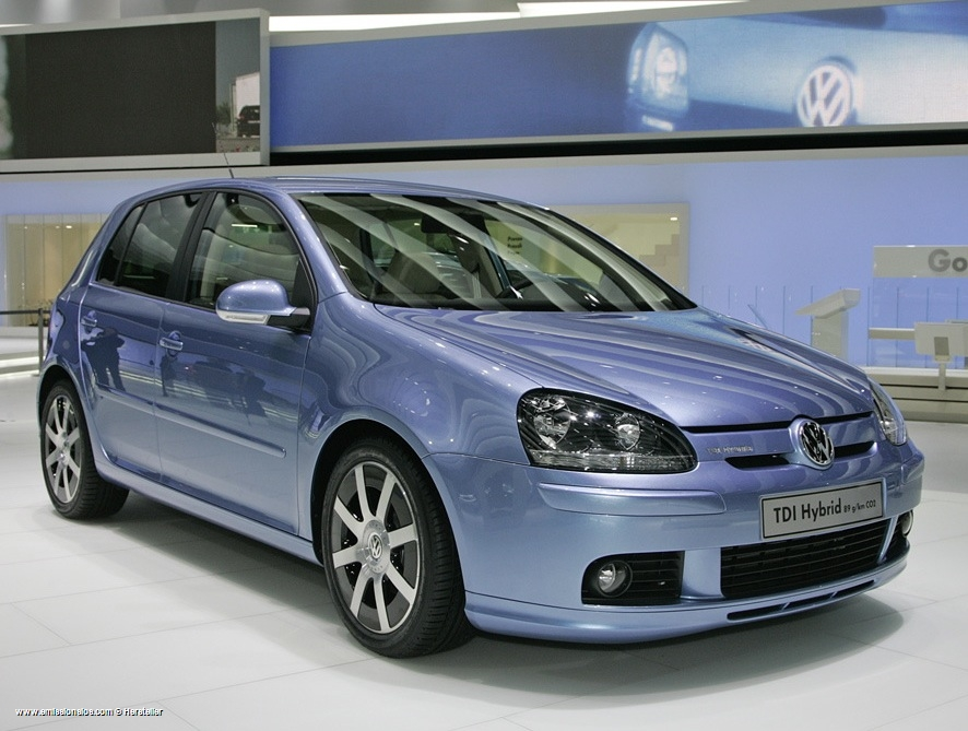 Vw Golf Tdi Hybrid 2008