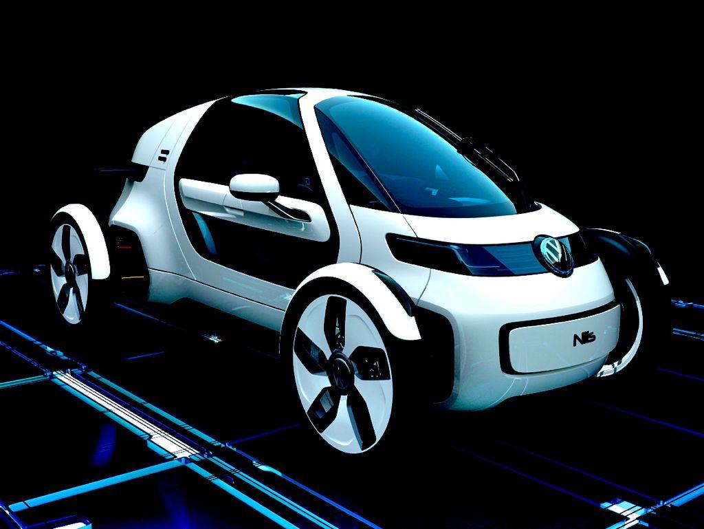 VW NILS Concept Skizze