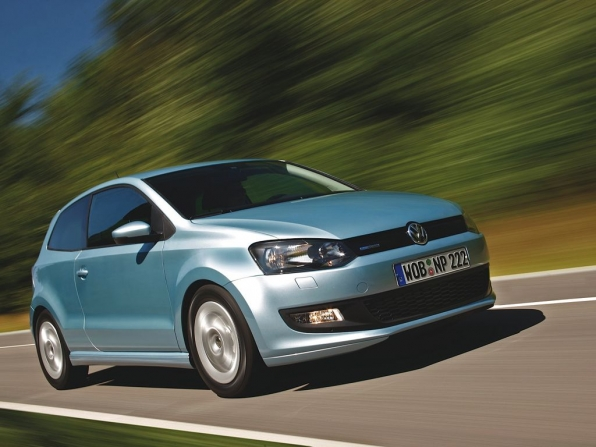 VW Polo BlueMotion (2012)