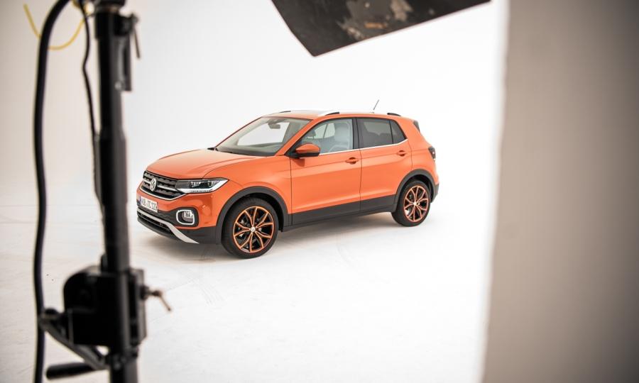 Volkswagen VW T-Cross: Erste Sitzprobe