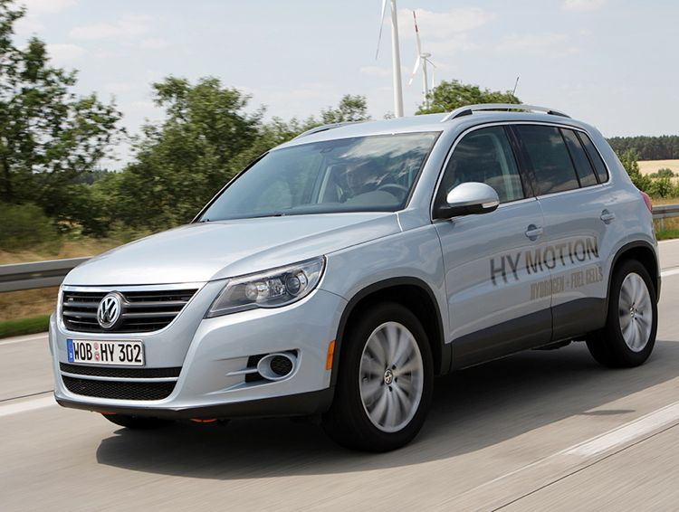 Vw Tiguan Hymotion 2007