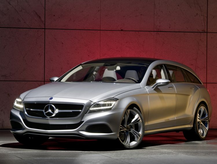 Mercedes baut ab 2010 den Shooting Brake