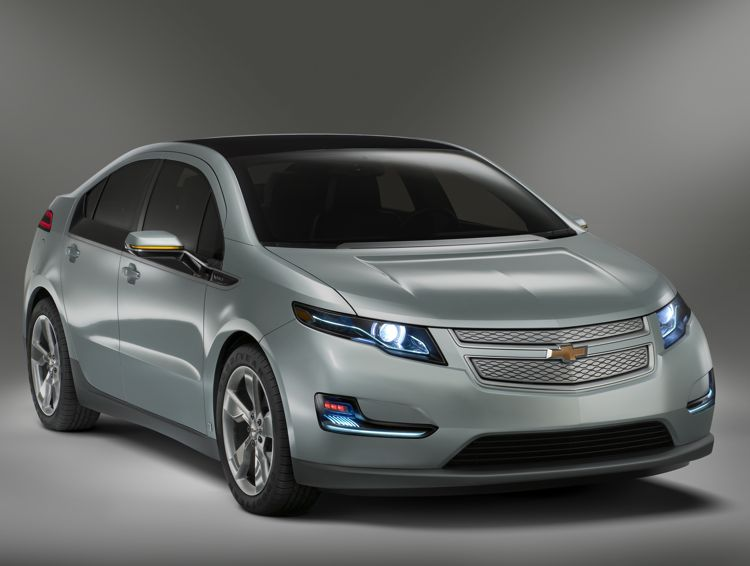 Hybrid- oder Elektroauto? Der Chevrolet Volt wird Green Car of the Year 2010