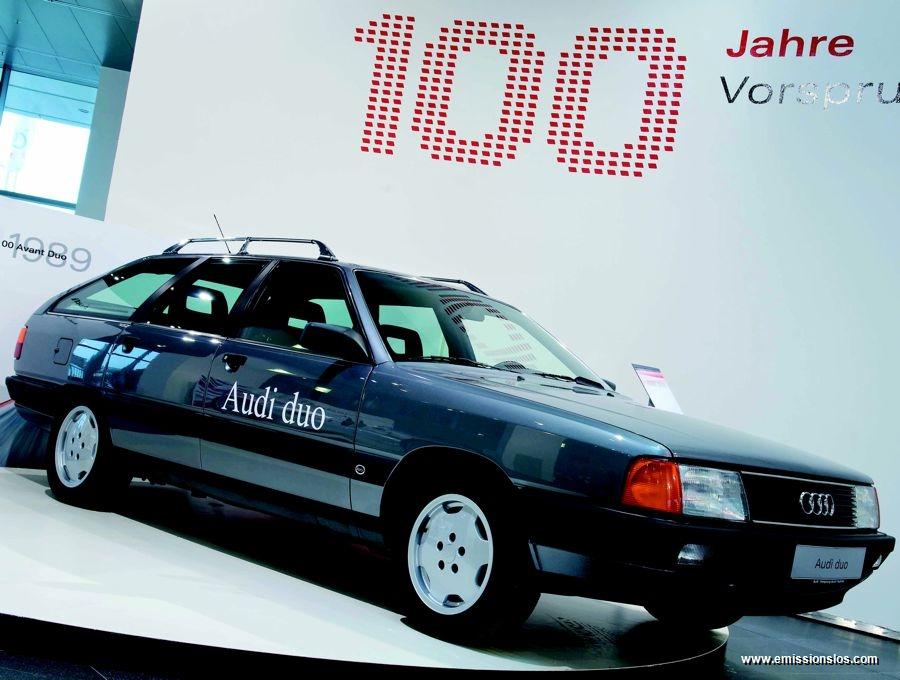 Audi Duo Hybrid (1990) - Der echte Pionier
