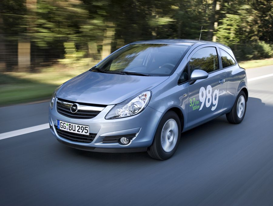 Opel Corsa ecoFlex LPG (2010)