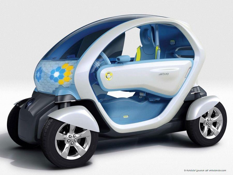 Renault Twizy Z.E. (2010) - Konzeptauto