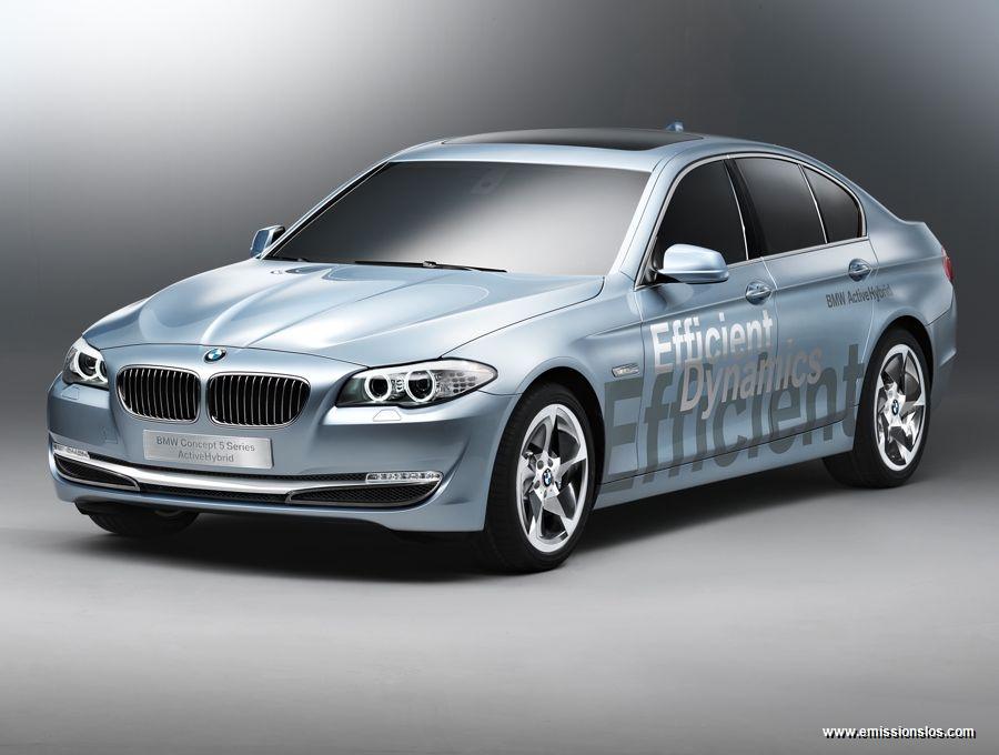 002 bmw concept 5 series 2010 - BMW Concept 5 Series (2010)