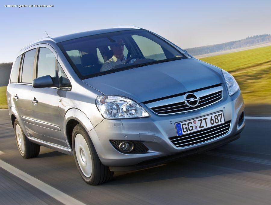 Opel Zafira 1,8 ecoFlex (2009)
