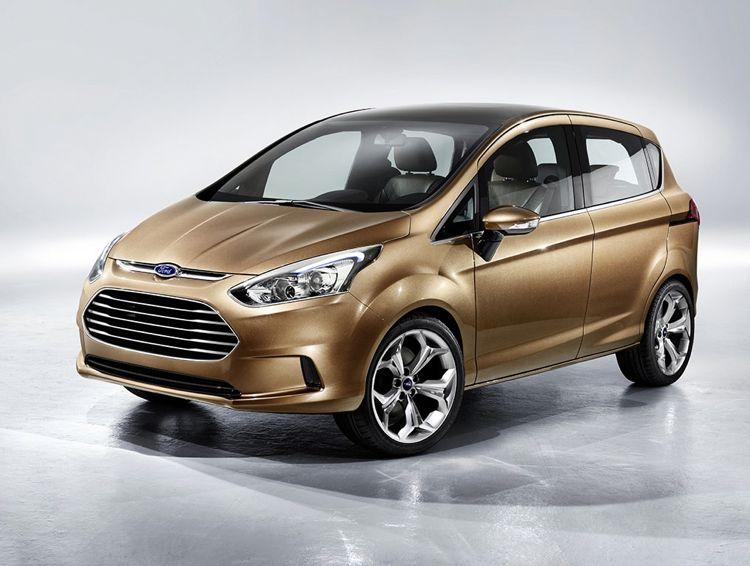 Genf 2011: Ford präsentiert den neuen B-Max
