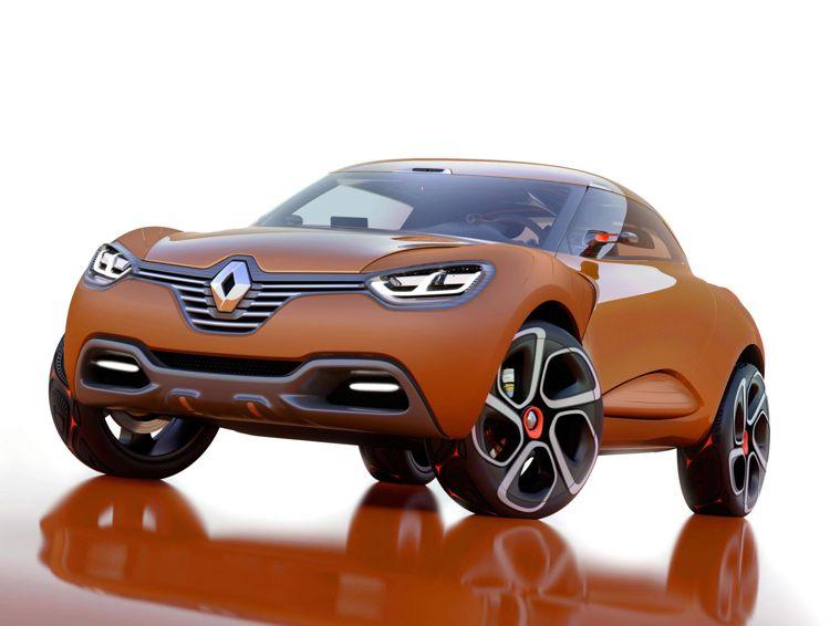 001 genf 2011 renault zeigt die designstudie captur - Genf 2011: Elektroauto Honda EV Concept mit bis zu 144 Km Reichweite