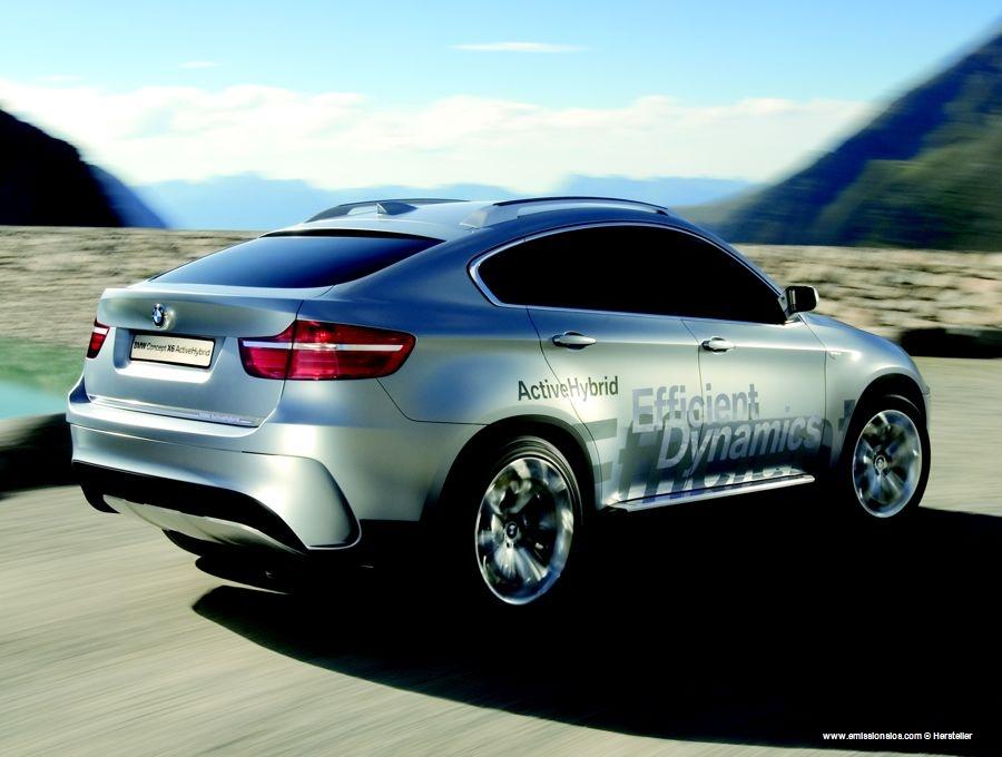 BMW X6 HycbridConcept (2007)