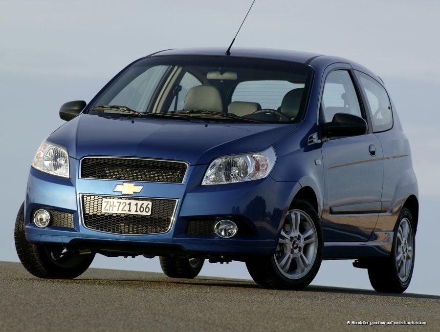 Chevrolet Aveo LPG (2010)