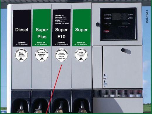 Biokraftstoff e 10 ab 20111 - Verträgt mein Auto E10 - Freigabeliste der Hersteller