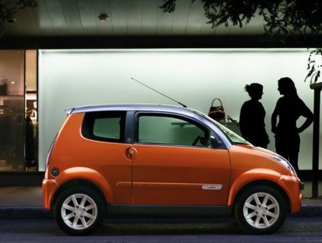 AXIAM CIty - Kleines modernes Elektroauto